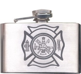 Fire Department Flask Buckle