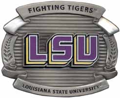 OCB043 LSU Louisiana State Buckle