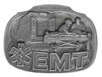 EMT LIFE SAVERS BELT BUCKLE