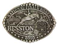 2010 Hesston NFR Buckle, Youth Size