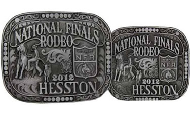 2012 Hesston buckles - adult and youth