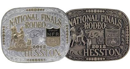 2012 Hesstons - Gold and Silver and Brass buckles