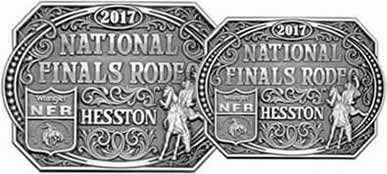 2017 Adult Hesston Buckle and Youth Buckle