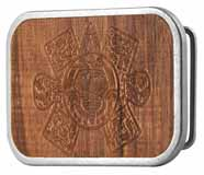319928 Sun God Brown Wood buckle