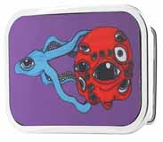 301220 Squid and head buckle