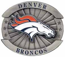 ofb020 Large Broncos buckle
