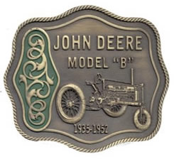 John Deere Model B, brass finish