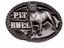 Pit Bull Buckle