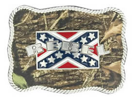 Rebel buckle with Camouflage