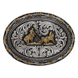 Team Ropers buckle