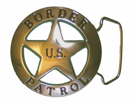 insignia de la border patrol