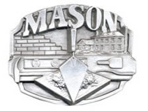 Mason buckle bricklayer buckle