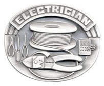 Electrician buckle