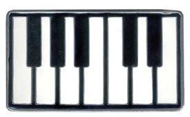 Piano Keyboard buckle