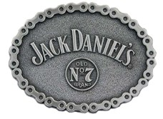 Jack Daniel's Buckle with Chain design border