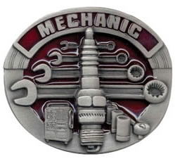 G6E Machinist buckle