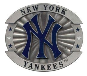 Large Yankees buckle