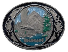 Colorado Eagle buckle