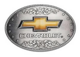 Chevy buckle