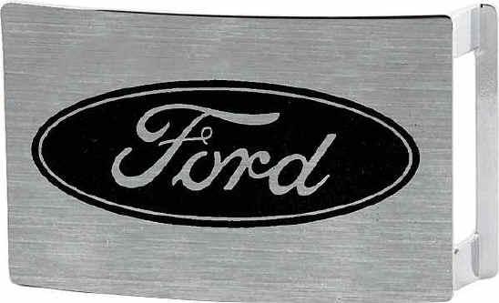 Chevy Belt Buckles >> Rectangular Brushed Chrome Car Buckles