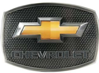 Chevy with Gold Bowtie design