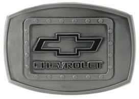 Chevrolet buckle with Rivets design