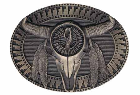 Buckles Of Estes Indian Belt Buckles